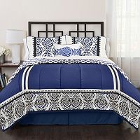 Republic India Loft Blue 4-piece Bed Set