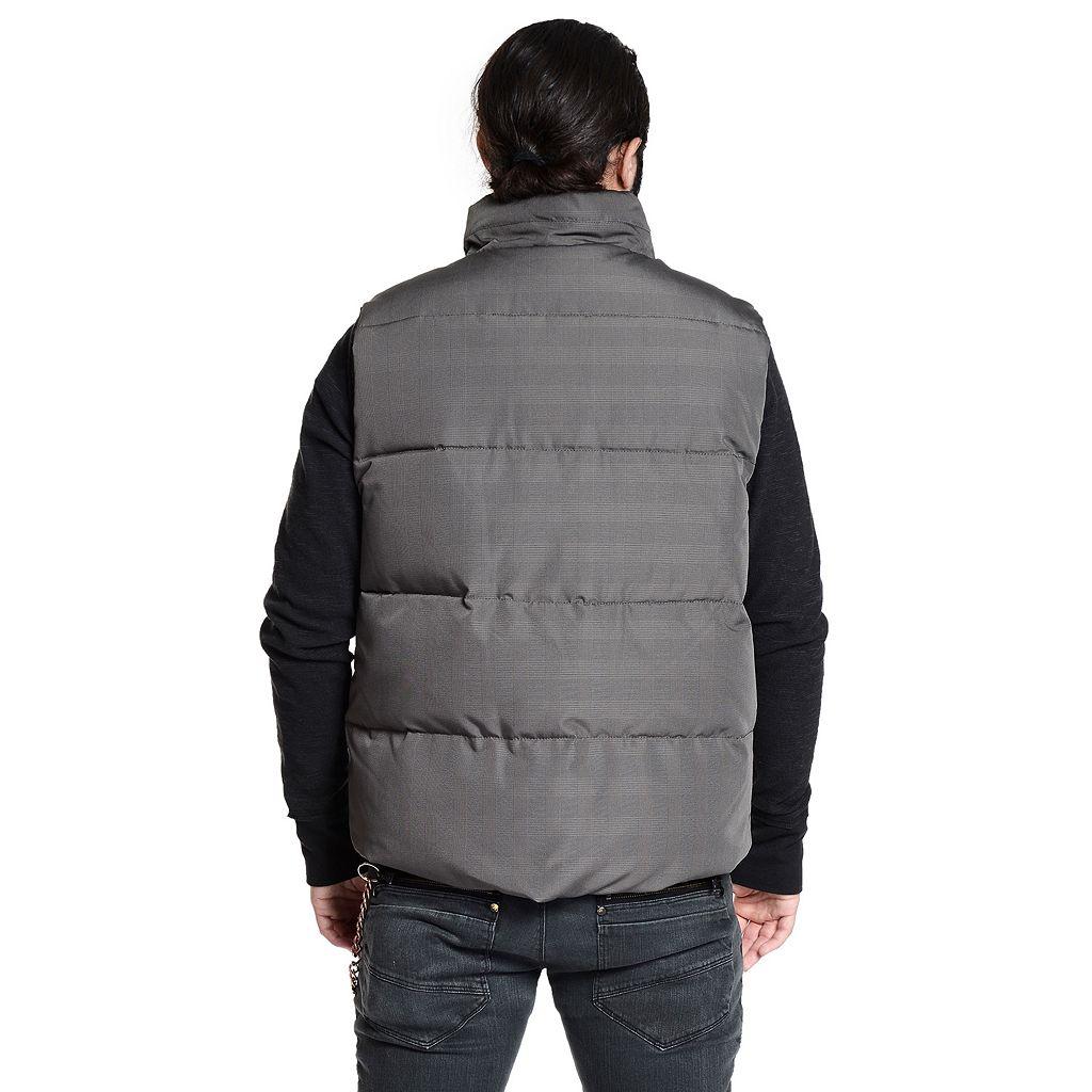 Men's Excelled Plaid Vest