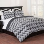 Republic Classic Chevron 3-piece Duvet Cover Set