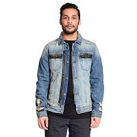 Men's Excelled Distressed Denim Jacket
