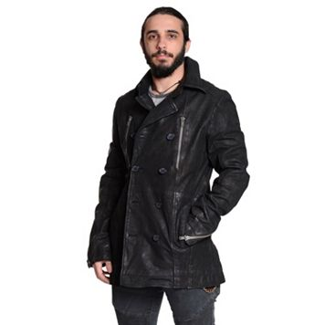 Men's Excelled Suede Peacoat