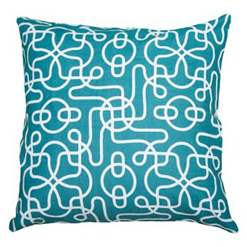 Rizzy Home Graphic Throw Pillow