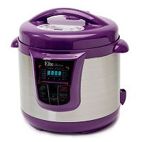 Elite Bistro 8-qt. Stainless Steel Electric Pressure Cooker