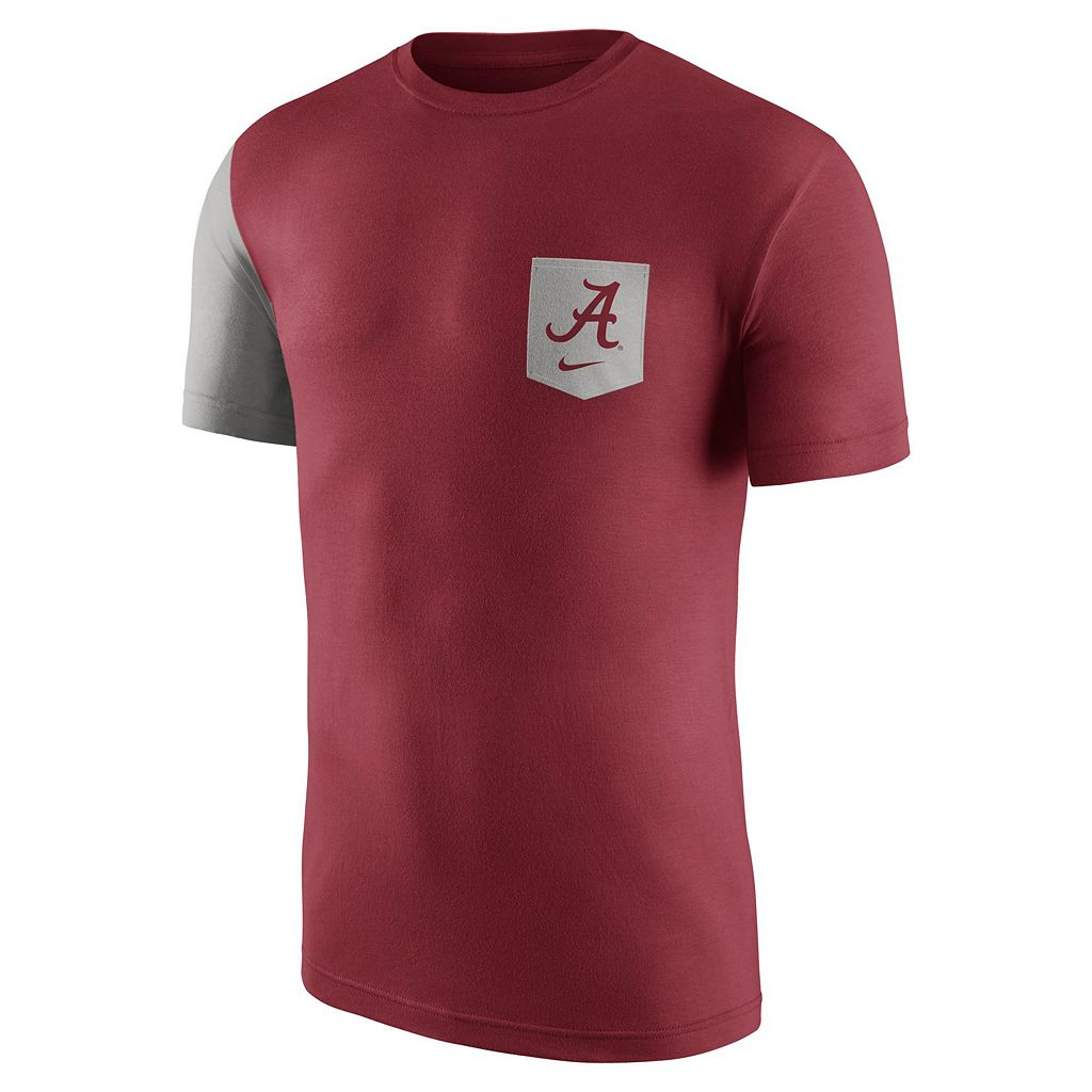 Men's Nike Alabama Crimson Tide Player Pocket Tee