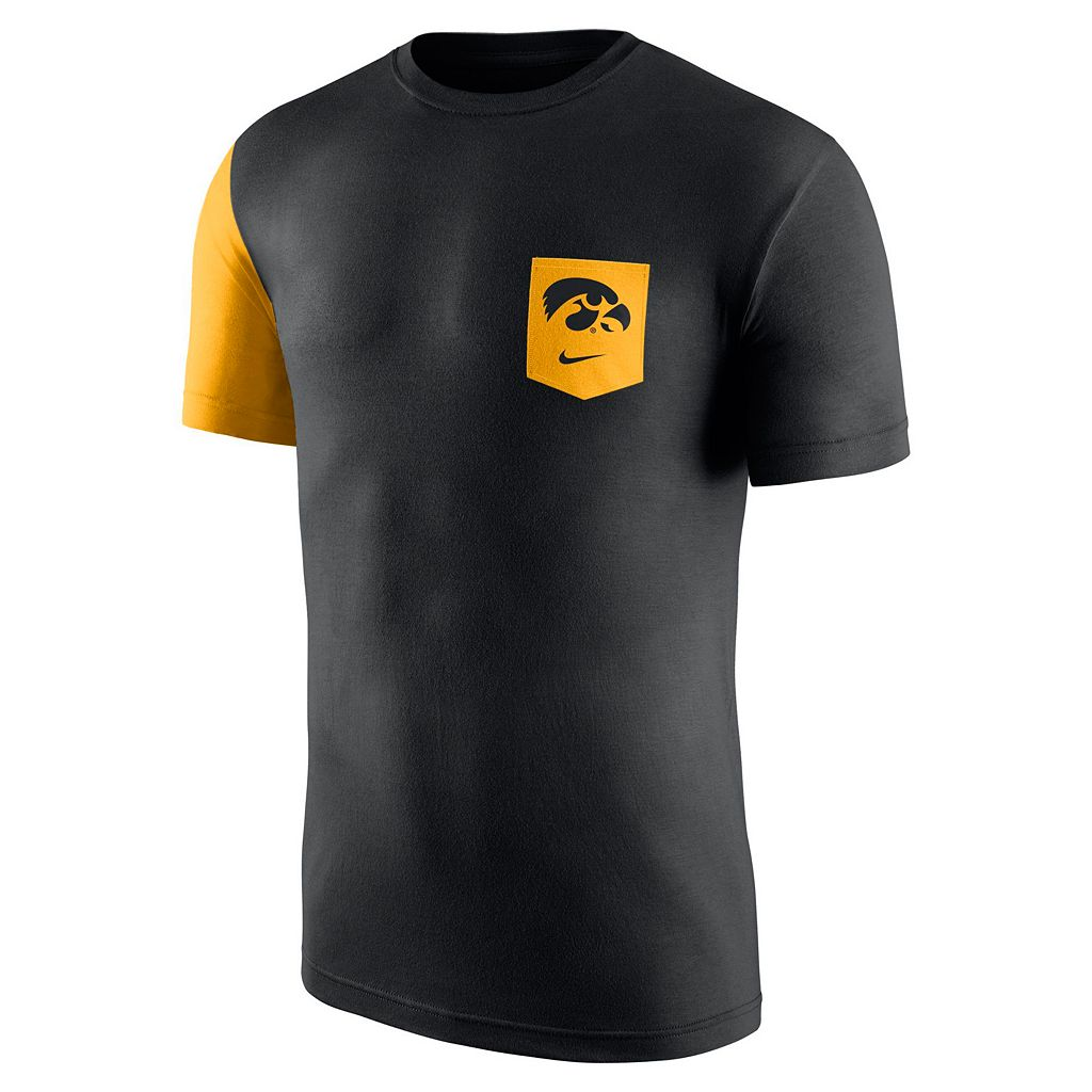 Men's Nike Iowa Hawkeyes Player Pocket Tee