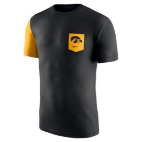 Men's Nike Iowa Hawkeyes Player Pocket Tee