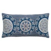 Rizzy Home Vintage Geometric Throw Pillow