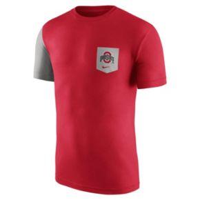 Men's Nike Ohio State Buckeyes Player Pocket Tee