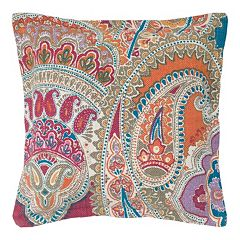 Rizzy Home Paisley Throw Pillow