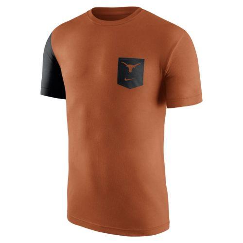 Men's Nike Texas Longhorns Player Pocket Tee