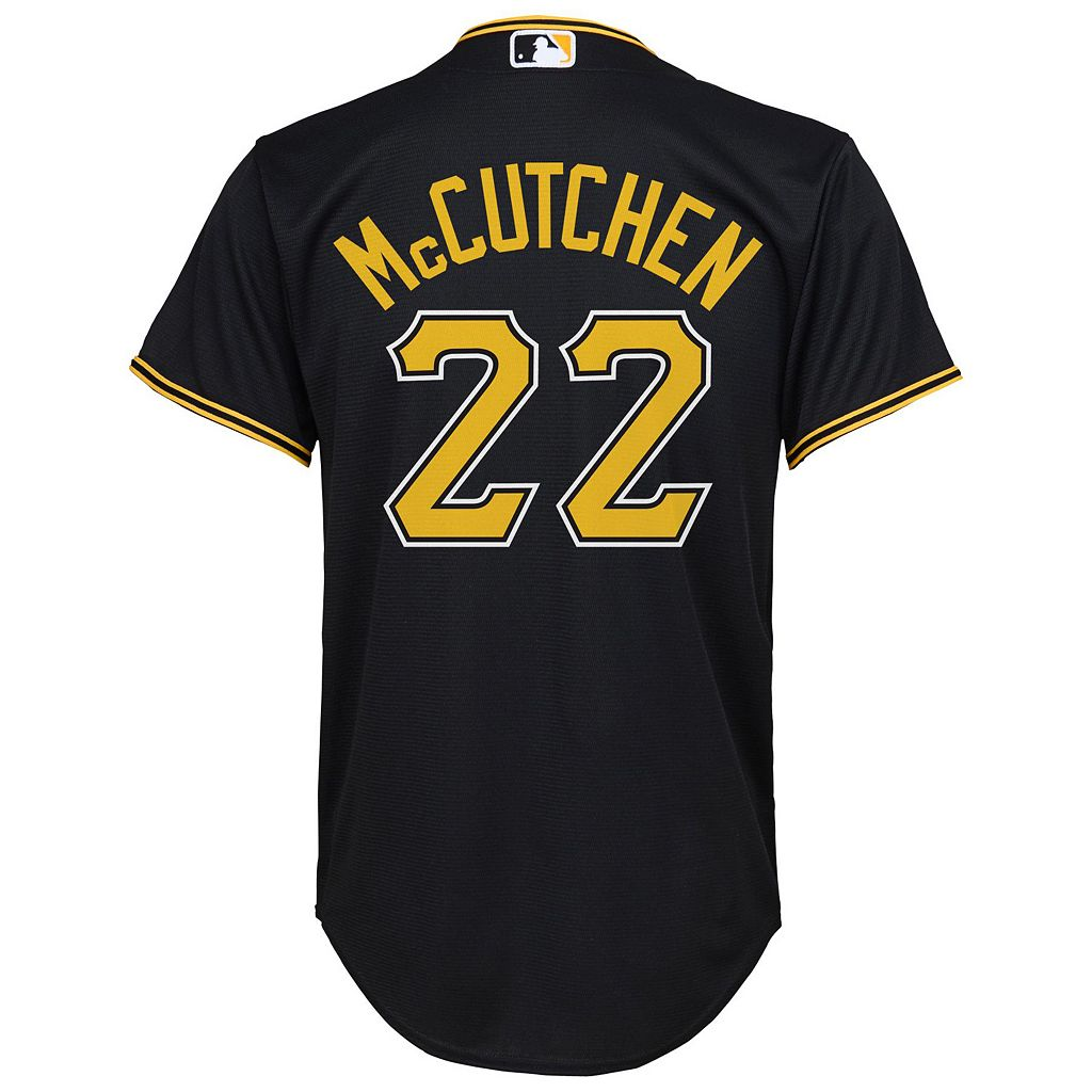 Boys 8-20 Majestic Pittsburgh Pirates Andrew McCutchen Replica Jersey