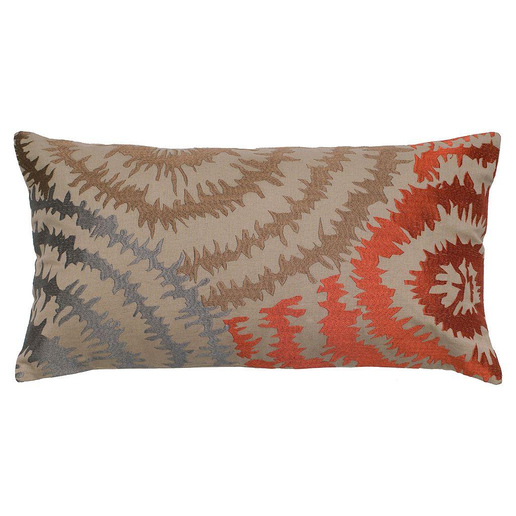 Rizzy Home Tie-Dye Throw Pillow