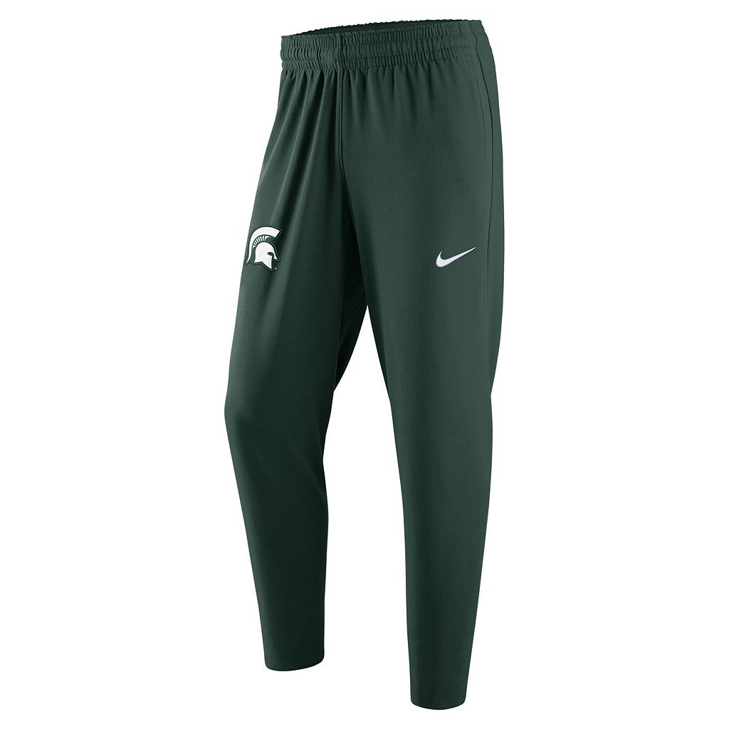 Men's Nike Michigan State Spartans Elite Fleece Pants