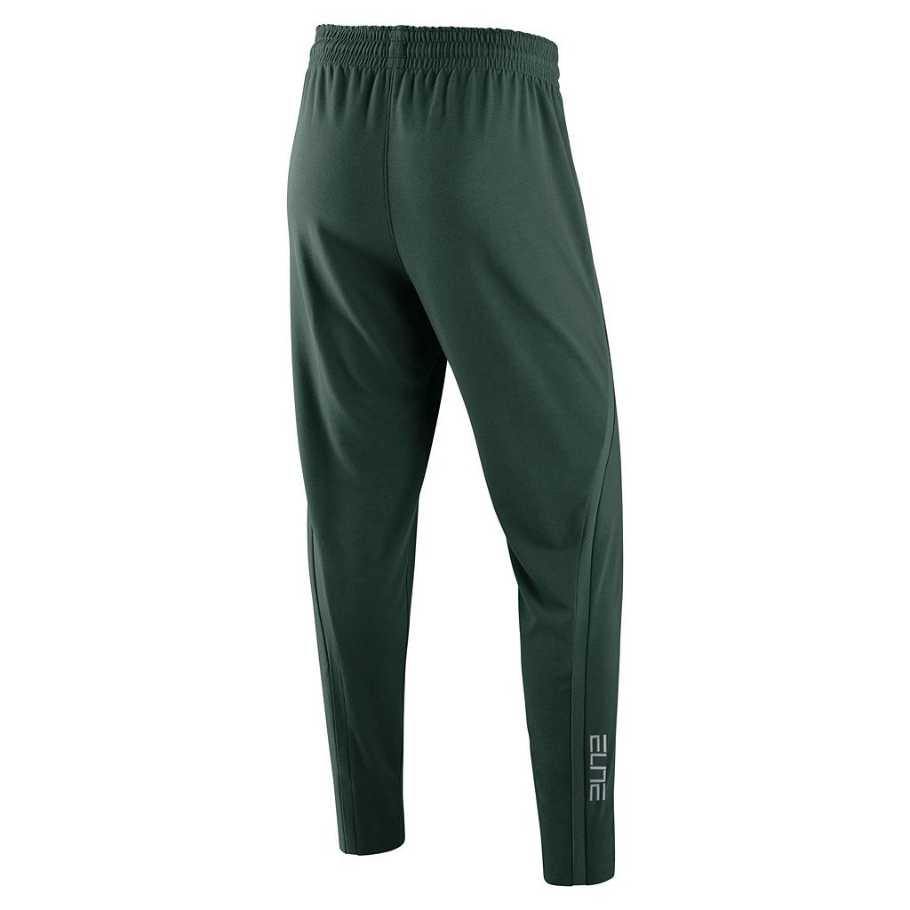 Men's Nike Michigan State Spartans Elite Fleece Pants