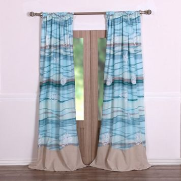 Maui 2-pack Window Curtains - 42'' x 84''