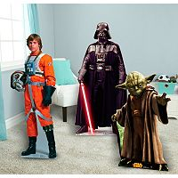 Star Wars Luke Skywalker, Darth Vader & Yoda Standup Set