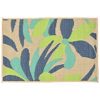 Trans Ocean Imports Liora Manne Playa Flower Indoor Outdoor Rug