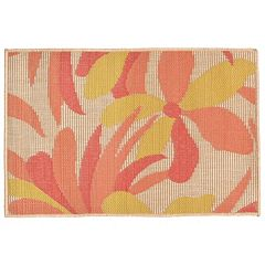 Liora Manne Playa Flower Indoor Outdoor Rug