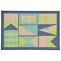 Trans Ocean Imports Liora Manne Playa Signal Flags Indoor Outdoor Rug