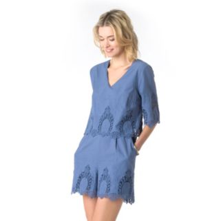 Women's Indication by ECI Chambray Romper
