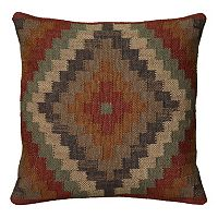 Rizzy Home Southwestern Geometric Throw Pillow