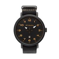 Columbia Men's Fieldmaster III Leather Watch