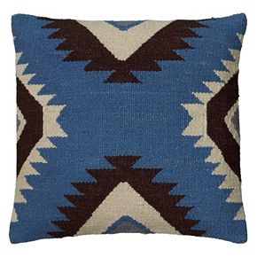 Rizzy Home Geometric Tribal Throw Pillow