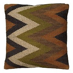 Rizzy Home Southwestern Chevron Throw Pillow