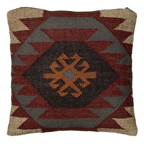 Rizzy Home Southwestern Tribal Throw Pillow