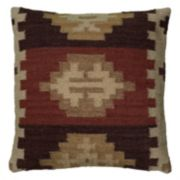 Rizzy Home Southwestern Geo Throw Pillow