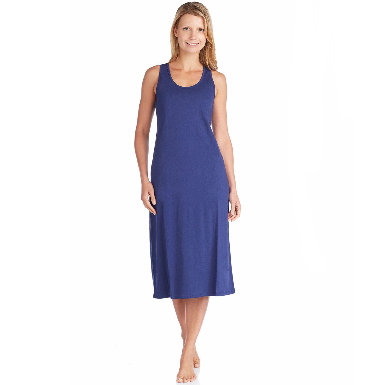 Womens Jockey Pajamas: Racerback Nightgown