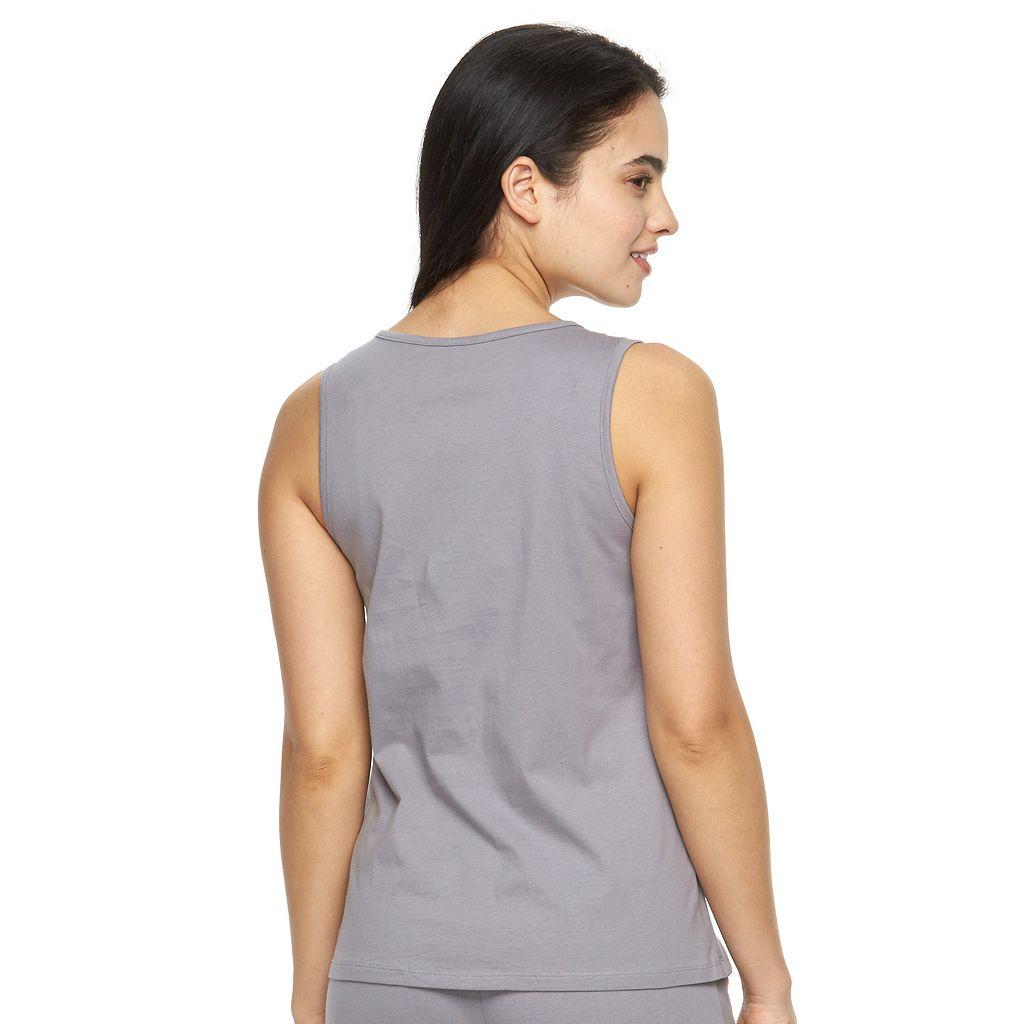 Women's Jockey Pajamas: Solid Pajama Tank