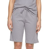 Plus Size Jockey Pajamas: Solid Bermuda Pajama Shorts