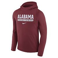 Men's Nike Alabama Crimson Tide Basketball Fleece Hoodie