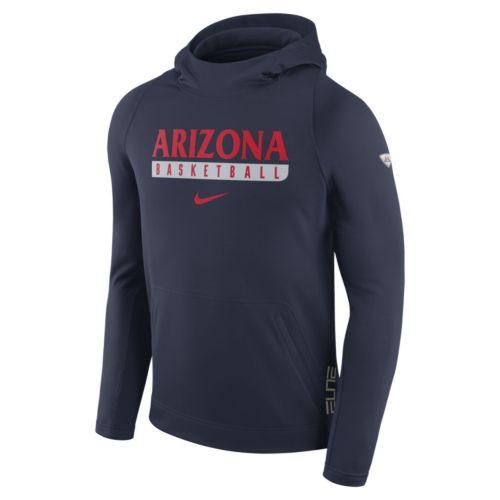 Men's Nike Arizona Wildcats Basketball Fleece Hoodie