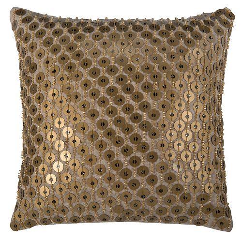 Rizzy Home Modern Sequin Throw Pillow