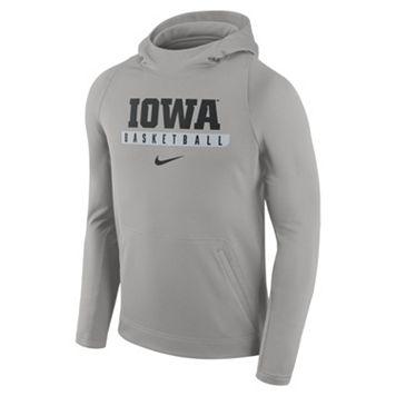 Men's Nike Iowa Hawkeyes Basketball Fleece Hoodie