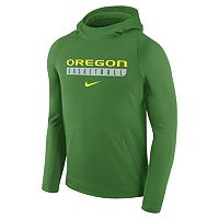 Men's Nike Oregon Ducks Basketball Fleece Hoodie
