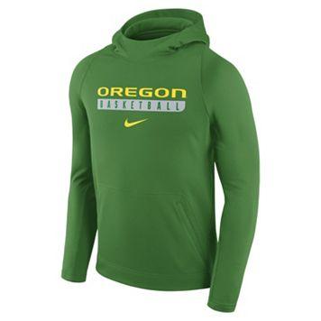 Men's Nike Oregon Ducks Basketball Fleece Hoodie