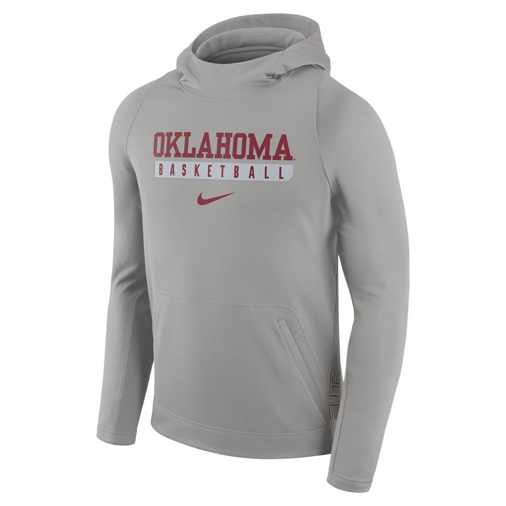 Men's Nike Oklahoma Sooners Basketball Fleece Hoodie