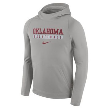 Men's Nike Oklahoma Sooners Basketball Fleece Hoodie