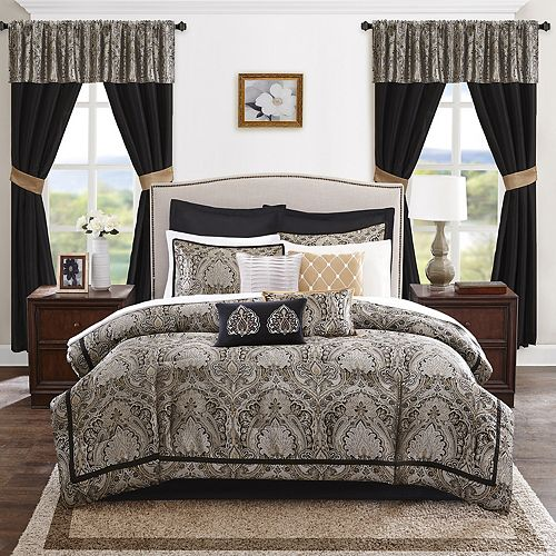 Madison Park Essentials Christine 24-piece Bedding Set