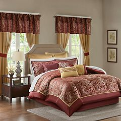 Madison Park Essentials Cadence 24 pc Bedding Set
