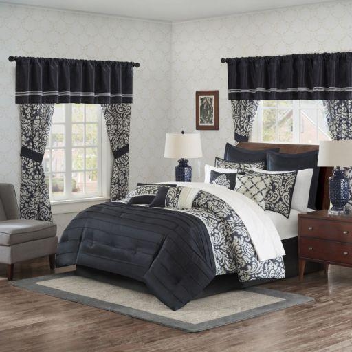 Madison Park Essentials Simone 24-piece Bedding Set