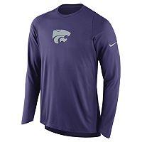Men's Nike Kansas State Wildcats Elite Shooter Long-Sleeve Tee