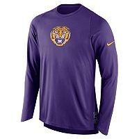Men's Nike LSU Tigers Elite Shooter Long-Sleeve Tee