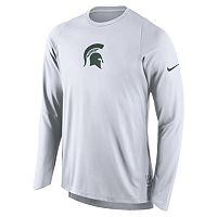 Men's Nike Michigan State Spartans Elite Shooter Long-Sleeve Tee