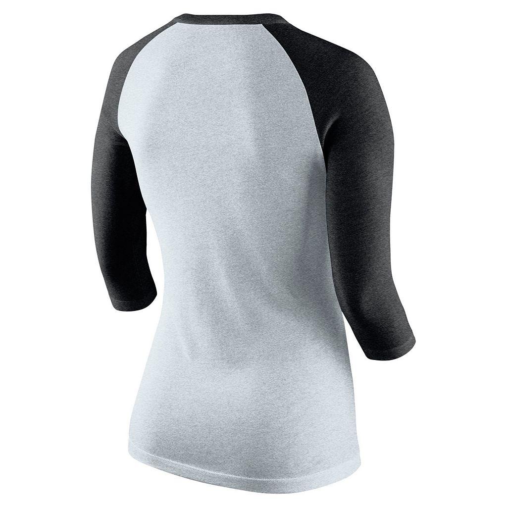 Women's Nike Kentucky Wildcats Oatmeal Raglan Tee