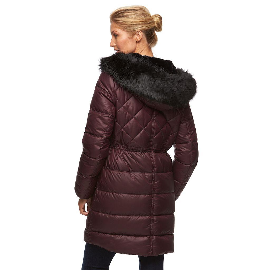Women's Apt. 9® Hooded Anorak Puffer Jacket