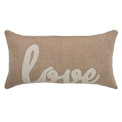 Rizzy Home 'Love' Throw Pillow